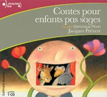 Couverture du livre &quot;Contes pour enfants pas sages&quot;