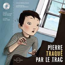Couverture du livre &quot;Pierre traqu par le trac&quot;