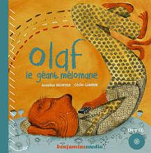 Couverture du livre &quot;Olaf le gant mlomane&quot;